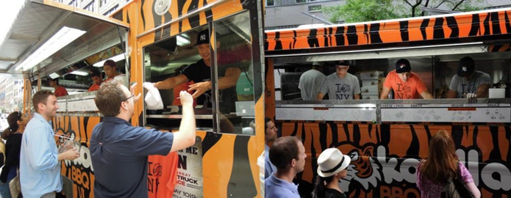 Korilla BBQ. One of the most popular NYC food trucks today