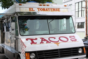 A taco truck business might work for  you.