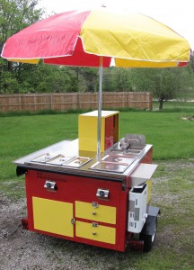 Modern Hot Dog Cart