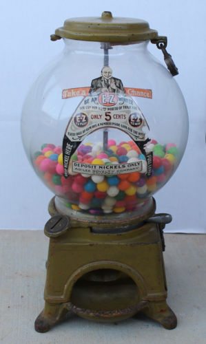 Antique Gumball Machines